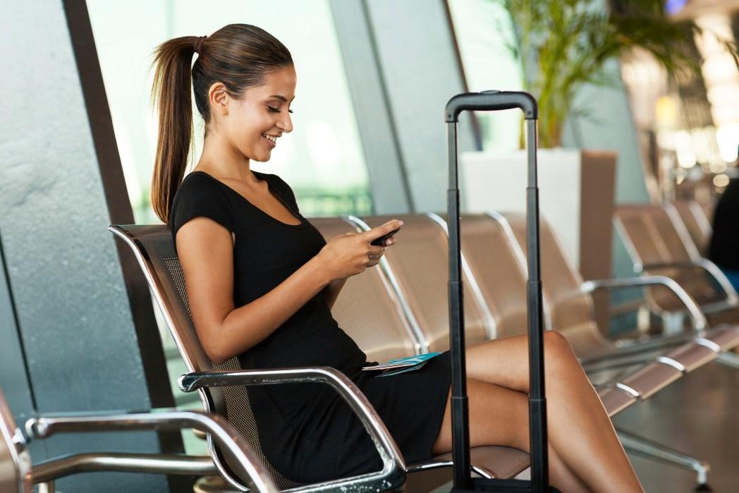 Basta clicar na imagem para encontrar informações sobre os aeroportos dos Estados Unidos!