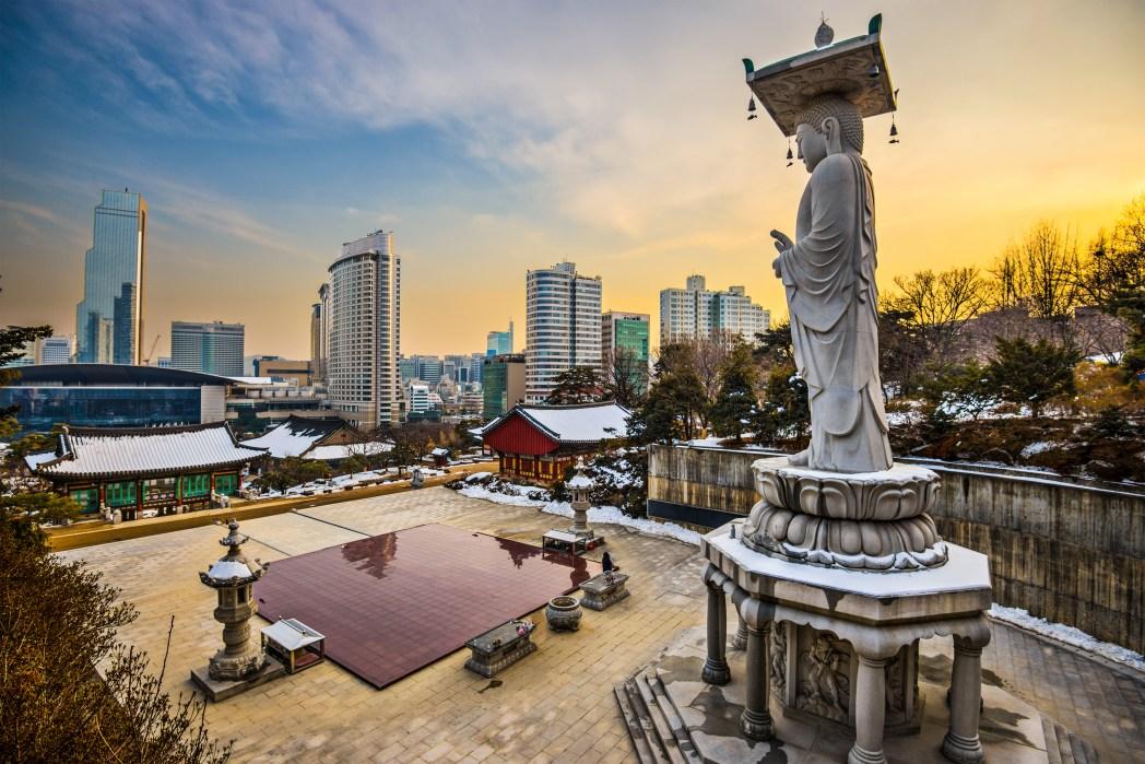Encontre as passagens mais baratas para Seul, basta clicar na foto!