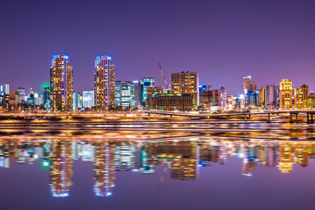 Clique na foto para buscar hotéis em Seul!