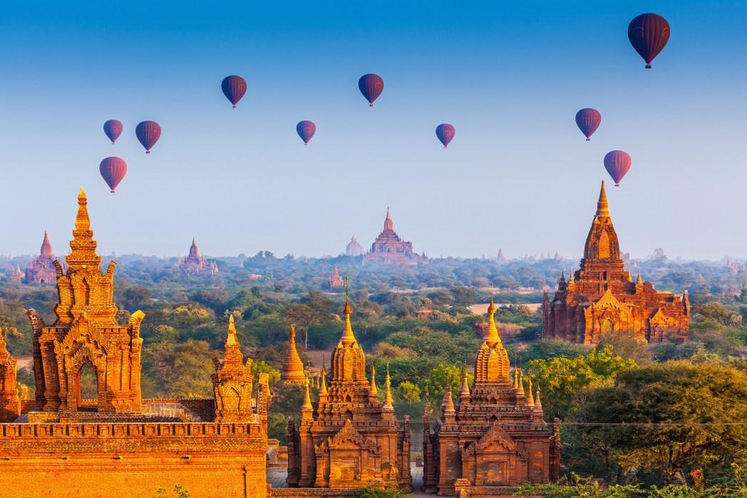 Basta clicar na foto e buscar por promoções de voos para Myanmar!