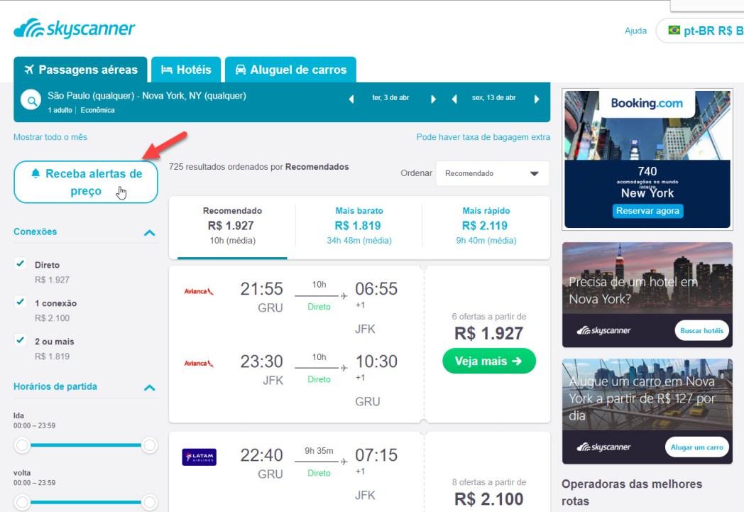 _Veja como criar um alerta de preços, clicando na foto!_