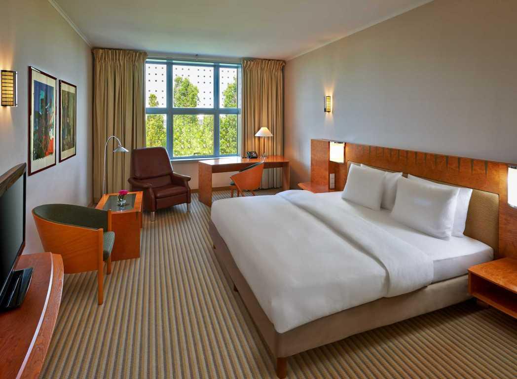 Clique na foto e faça sua reserva no Hilton Munich Airport